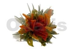 Bai He Yu Die - Motýl a lilie 50 g (7 kusů) / kvetoucí čaj