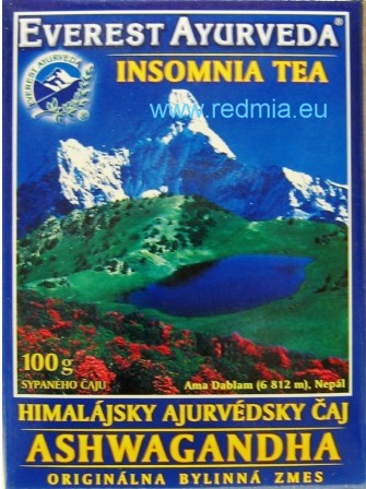 ASHWAGANDDHA - Insomnia tea / Everest Ayurveda (P), Ltd.,Nepal